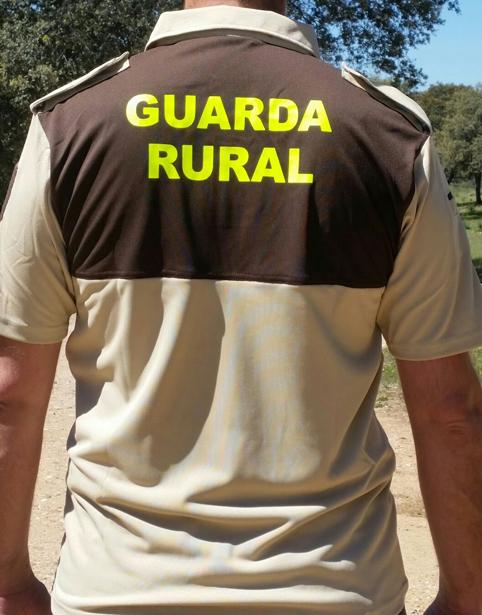 Polo Bicolor MC Guarda Rural Espalda