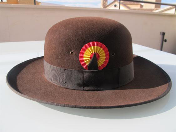 Sombrero con Escarapela Nacional